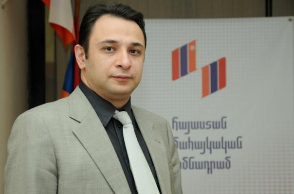«Հայաստան» համահայկական հիմնադրամի տնօրենը Հանրապետության նախագահին է ներկայացրել իր հրաժարականի դիմումը
