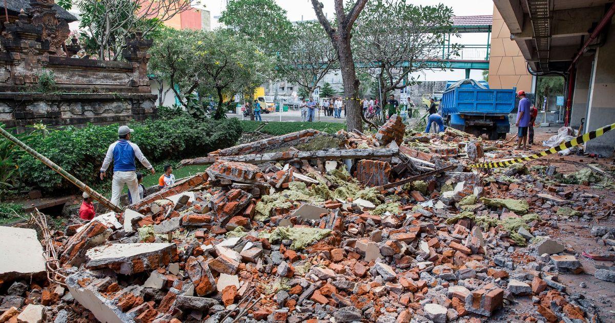 Ինդոնեզիայում կրկին ուժեղ երկրաշարժ է տեղի ունեցել. փլուզվել են շինություններ
