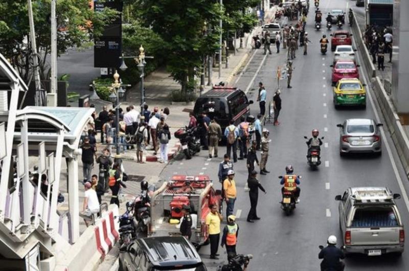 Թաիլանդի մայրաքաղաքում մի շարք պայթյուններ են որոտացել (լուսանկարներ)