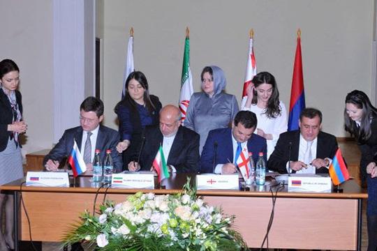 Երևանում ստորագրել են Հյուսիս-հարավ էլեկտրաէներգետիկական միջանցքի ձևավորման ճանապարհային քարտեզը