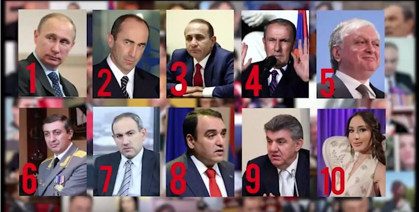 Ամենամեծ քաղաքական գաղտնիքները. Այս ամսվա TOP 10