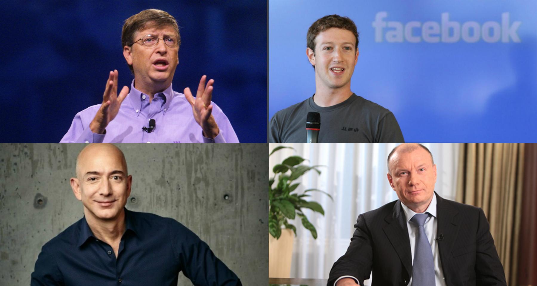 Ինչպիսի ուսանողներ էին աշխարհի ամենահարուստ մարդիկ