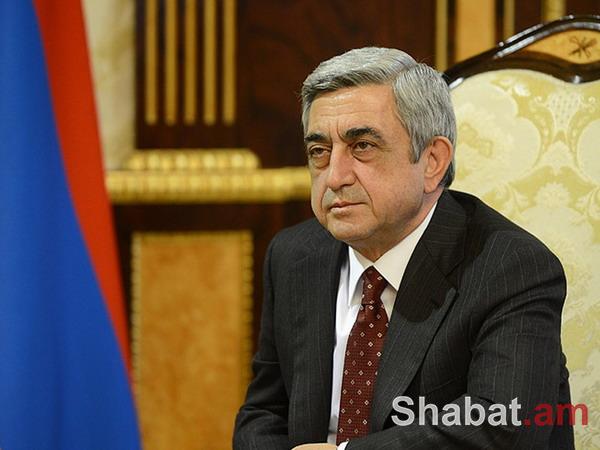 Սերժ Սարգսյանը շնորհավորել է Լուկաշենկոյին