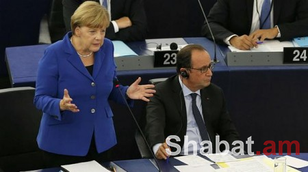 Մերկելը և Օլանդը կողմ են միասնական և բաց Եվրոպային