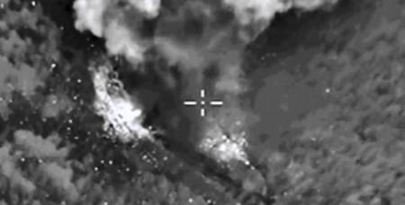 ՌԴ ՊՆ-ն հրապարակել է Սիրիայում հերթական ավիահարվածների տեսաապացույցները