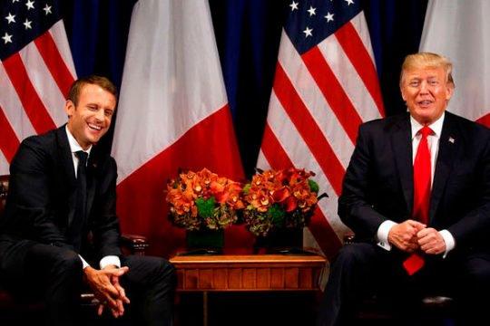 Թրամփը և Մակրոնը քննարկել են ԵՄ – ԱՄՆ միջառևտրային հարաբերությունները