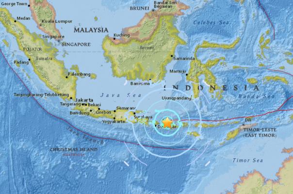 Ինդոնեզիայում 6.3 մագնիտուդ ուժգնությամբ նոր երկրաշարժ է տեղի ունեցել