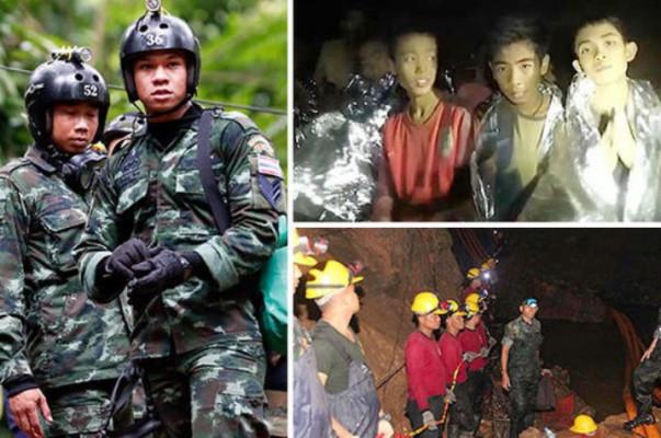 Թաիլանդում մեկնարկել է շաբաթներ շարունակ քարանձավում թակարդված 12 երեխաների տարհանման գործողությունը (լուսանկարներ,տեսանյութեր)
