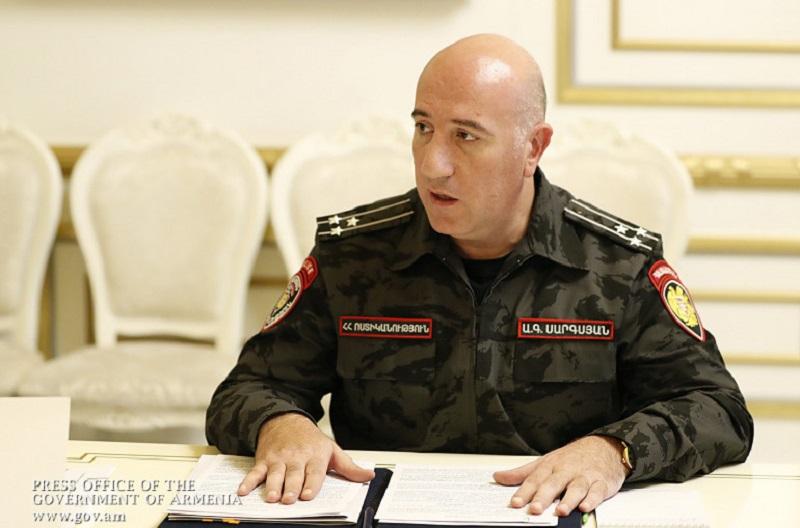 Արման Սարգսյանի հրամաններով Երեւանի եւ մարզերի մի շարք ոստիկանապետեր ազատվել են զբաղեցրած պաշտոններից