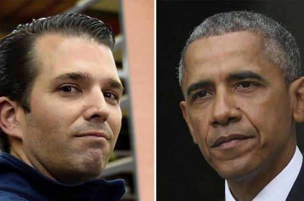 Թրամփի որդին Օբամային անվանել է ԱՄՆ-ի լավագույն «վաճառականը»
