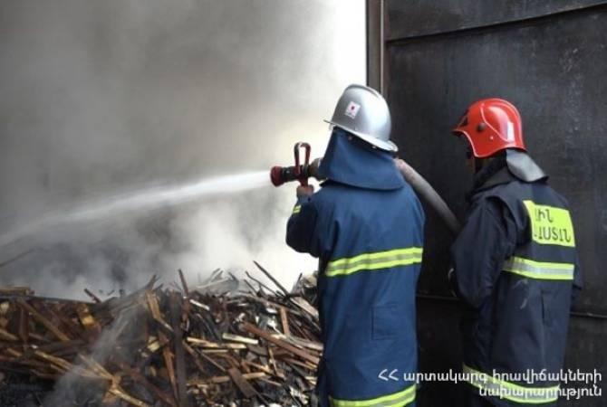 «ՆԻԿՕ» խանութ-սրահի պահեստում բռնկված հրդեհը մարվել է․ ԱԻՆ