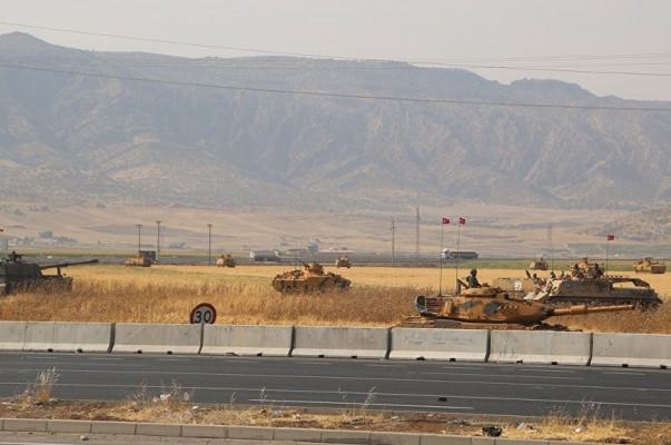 Թուրքական ԶՈւ-ն զինտեխնիկա է կուտակում Իրաքի հետ սահմանին