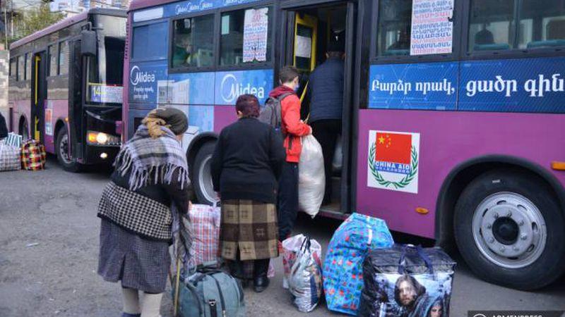 Ռուս խաղաղապահների ուղեկցությամբ այսօր ևս 846 փախստական է վերադարձել Լեռնային Ղարաբաղ