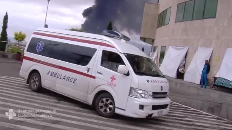 Ինչպես է կազմակերպվում Արցախի խաղաղ բնակչության շրջանում վիրավորված քաղաքացիների բուժօգնությունը (տեսանյութ)