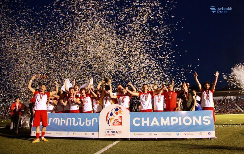 Հարավային Օսիայի հավաքականը հռչակվեց CONIFA 2019-ի Եվրոպայի առաջնության հաղթող