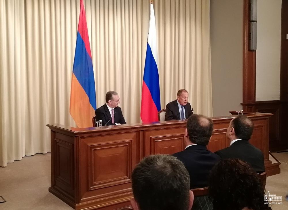 Սերգեյ Լավրովի և Զոհրաբ Մնացականյանի հանդիպման մանրամասները