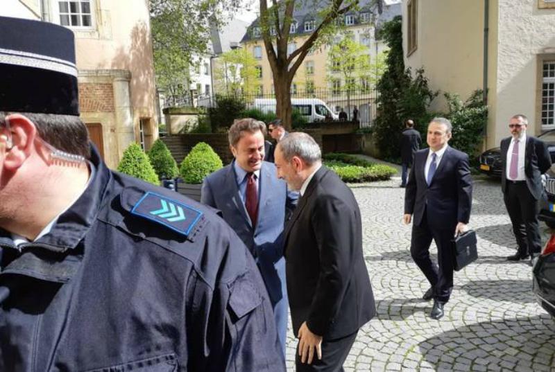 Մեկնարկել է Հայաստանի և Լյուքսեմբուրգի վարչապետների հանդիպումը
