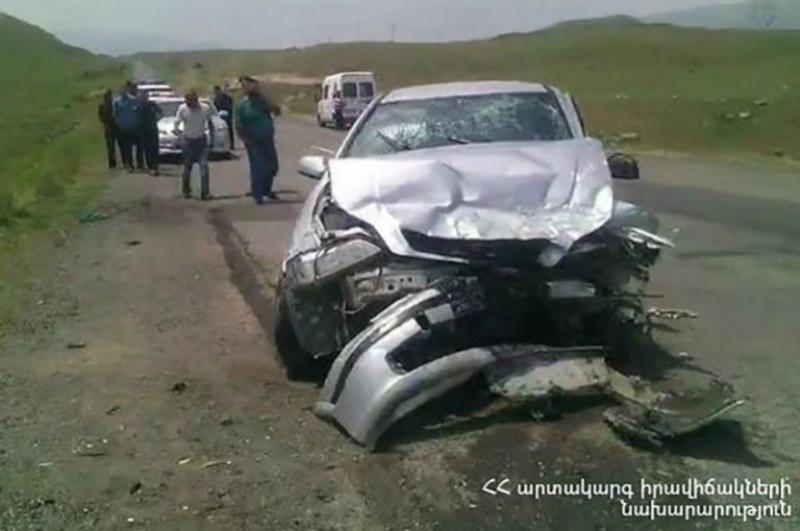 Նորավան գյուղի մոտ բախվել են Lada Granta-ն և Opel Astra-ն, կան տուժածներ