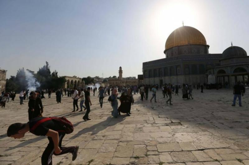 Կուրբան Բայրամի մեկնարկի օրը բախումներ են տեղի ունեցել արաբների և ոստիկանների միջև Երուսաղեմի Տաճարի լեռան մոտ