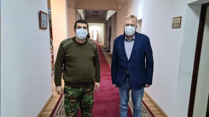 Արայիկ Հարությունյանն ընդունել է ՌԴ Պետական դումայի պատգամավոր Վիտալի Միլոնովին