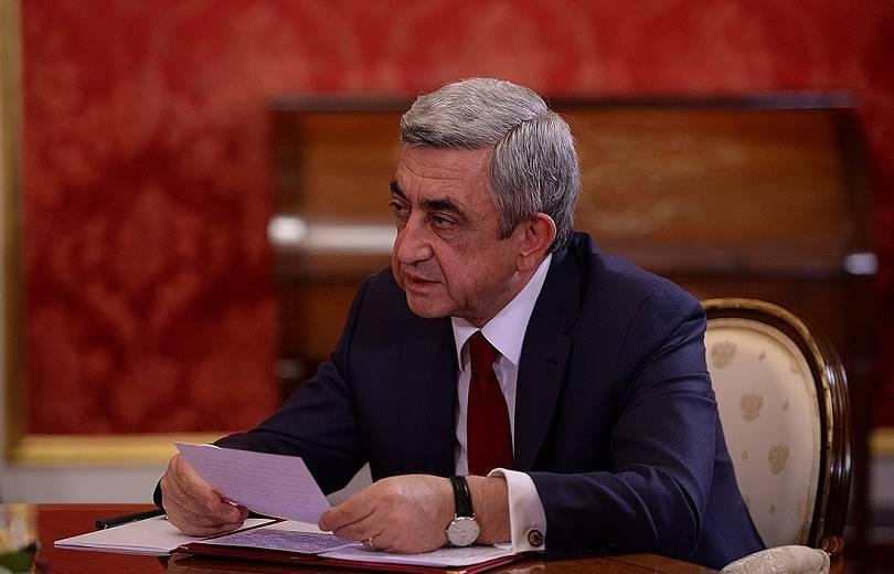Սերժ Սարգսյանն աշխատանքից ազատել է իր գլխավոր խորհրդականին