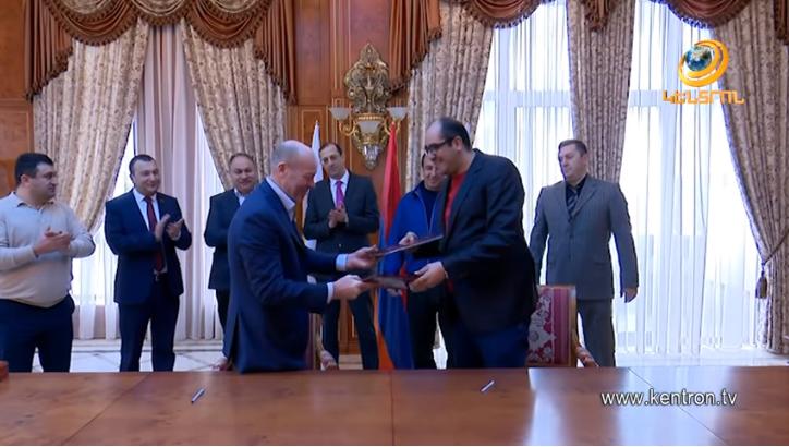 ՀԱՕԿ-ն ու Ռուսաստանի «Այկիդո Այկիկայ» ֆեդերացիան փոխըմբռնման հուշագիր են ստորագրել