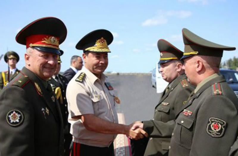 Ադրբեջան է մեկնել Բելառուսի ԶՈւ ԳՇ պետը