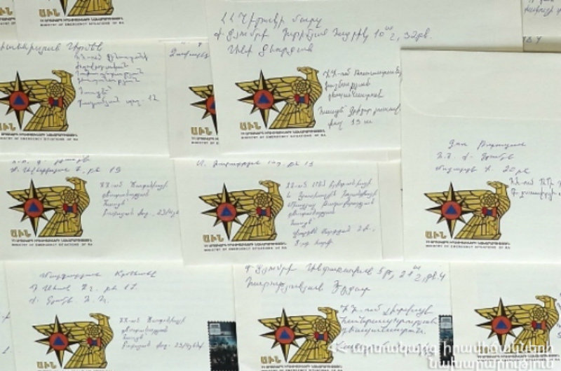 Սպիտակի երկրաշարժի 30-րդ տարելիցին ընդառաջ Սպիտակի և Գյումրու բնակիչները շնորհակալական նամակներ են հղել աջակցութուն ցուցաբերած երկրներին