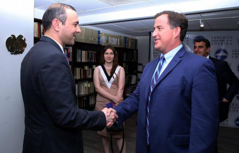 ԱԽ քարտուղար Արմեն Գրիգորյանն աշխատանքային հանդիպումներ է անցկացրել Վաշինգտոնում