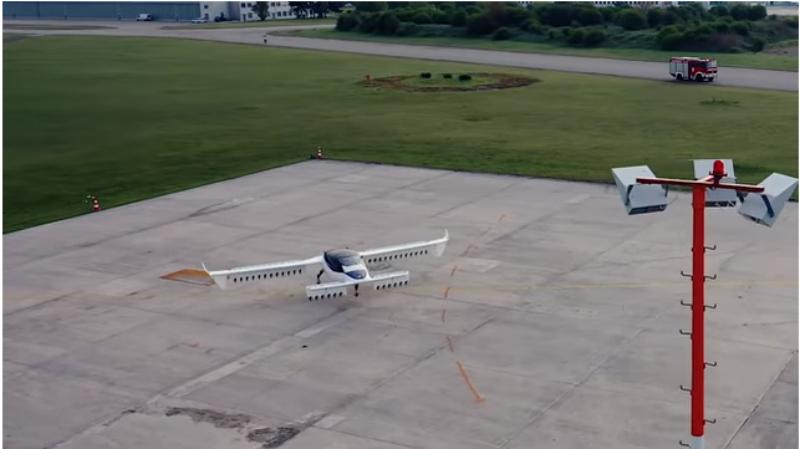 Գերմանական ընկերությունն անօդաչու օդային տաքսի է փորձարկել