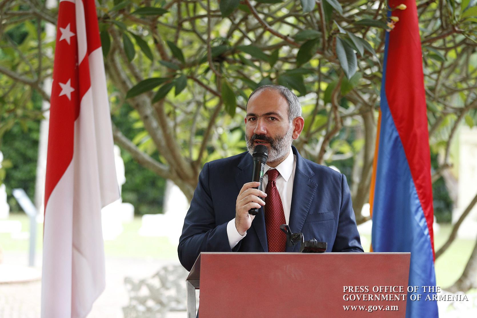 Եկել է ազատ, երջանիկ, հզոր Հայաստանի ժամանակը. Վարչապետի ելույթը Սինգապուրում (տեսանյութ)