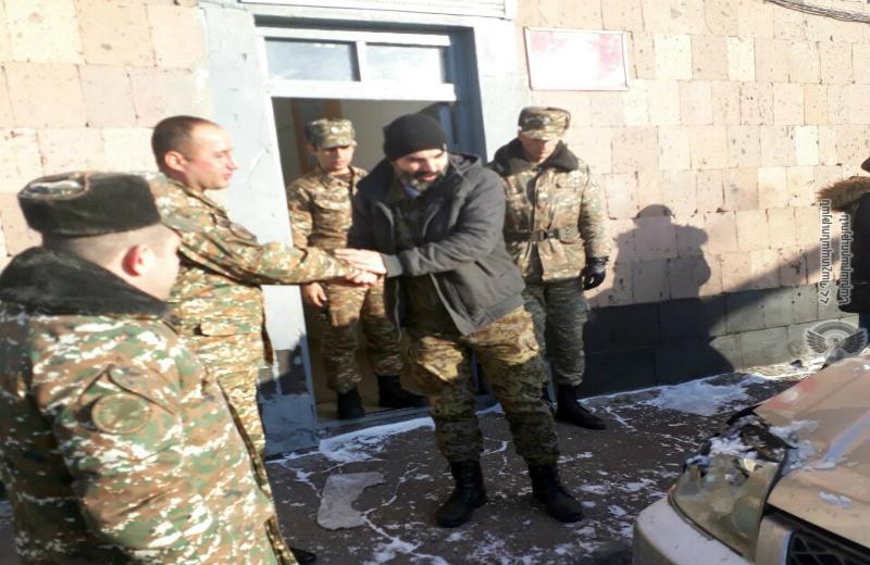 Օգնության են հասել զինծառայողները