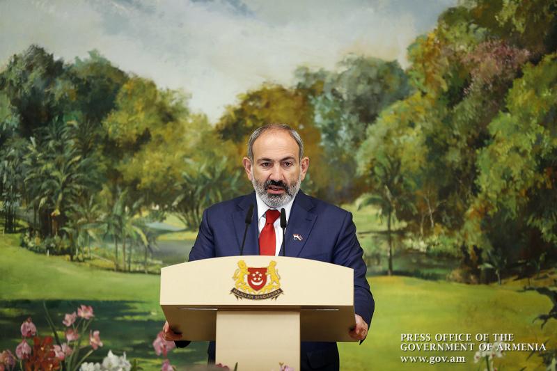 Մերիտոկրատիան, պրագմատիզմն ու ազնվությունը, որոնք հանդիսանում են Սինգապուրի պետական կառավարման փիլիսոփայության հենասյունները, այսօր դարձել են նաև Նոր Հայաստանի ղեկավարության սկզբունքները. Նիկոլ Փաշինյան