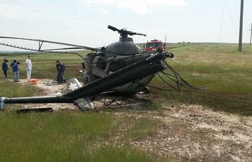 Ուկրաինայում մասնավոր ընկերության Ми-2 ուղղաթիռ է ընկել