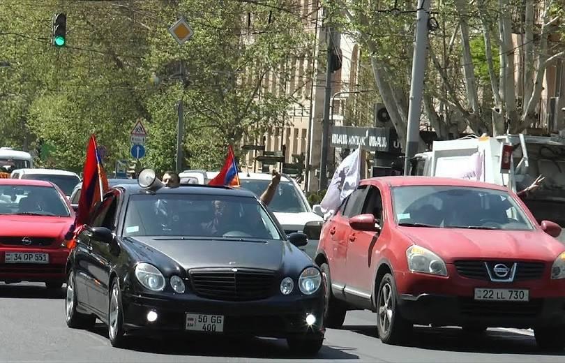 Գյումրիից ավտոերթով Երևան է մեկնել 200-ից ավելի քաղաքացի