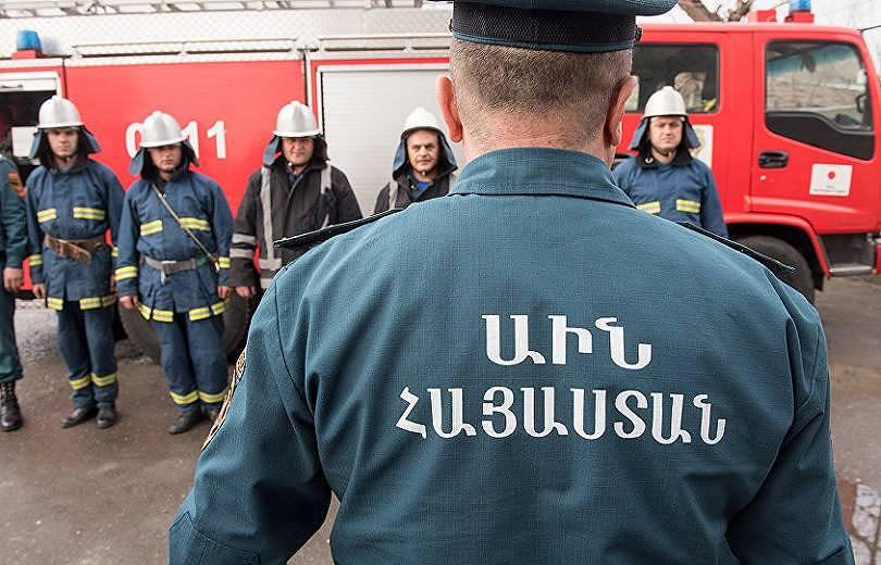 Հրդեհ Արին-Բերդի փողոցում. այրվել է էլեկտրական ենթակայան