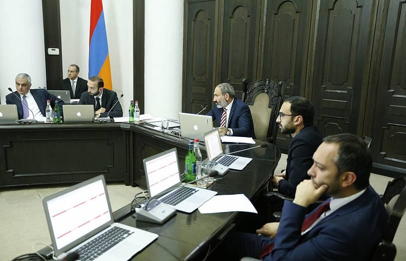 Կառավարության նիստը ուղիղ միացմամբ