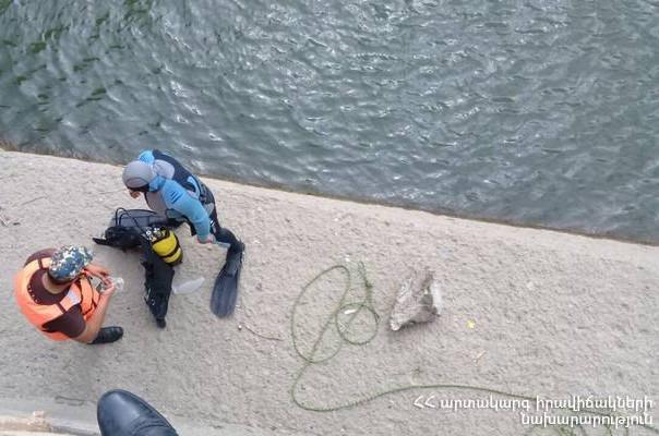Արգել ՀԷԿ-ի ջրանցքի ավազանում դի է հայտնաբերվել