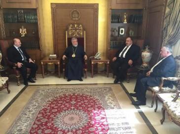 ՍԴՀԿ Կենտրոնական վարչության հանդիպումը Արամ Ա-Ի հետ