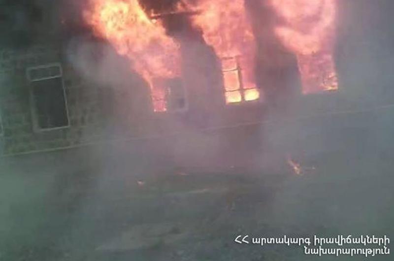 Հաղպատի վանական համալիրի տարածքում այրվել է կացարանի մի մասը՝ 675 քմ և գույք՝ մոտ 375 քմ (տեսանյութ)