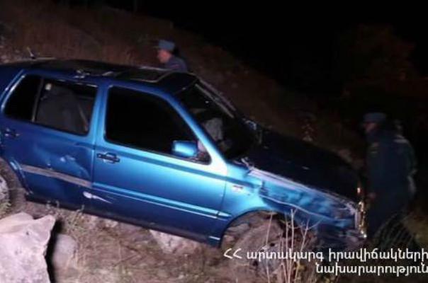 Վթար Երևան-Մեղրի ավտոճանապարհին. կան տուժածներ