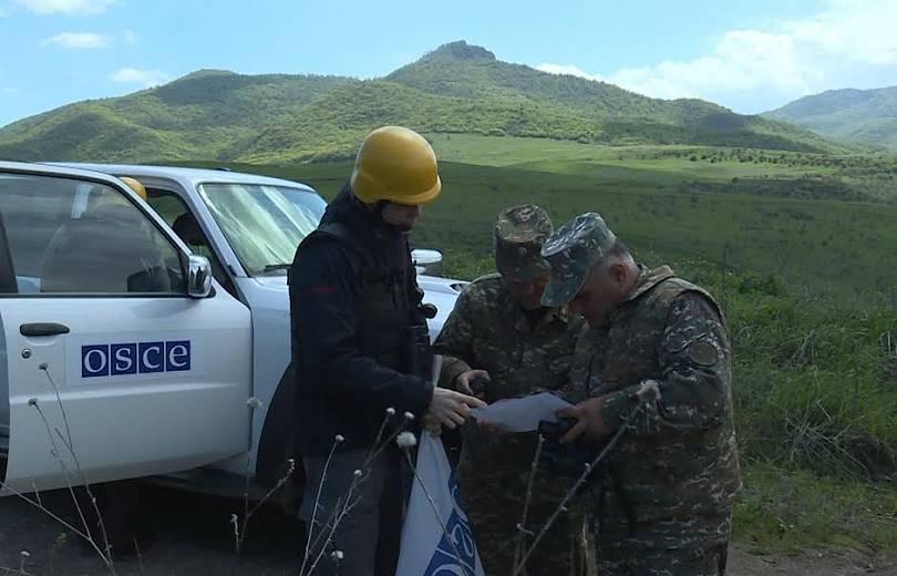 ԵԱՀԿ-ն դիտարկում է անցկացրել Արցախի և Ադրբեջանի սահմանին