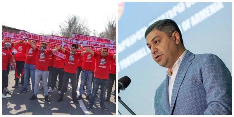 Վանեցյանը հանդիպել է Red Eagles-ի անդամների հետ. բողոքի ակցիաները կդադարեցվեն