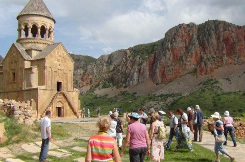 Հայաստան ժամանած զբոսաշրջիկների քանակն այս տարվա առաջին եռամսյակում ավելացել է 5.2 տոկոսով