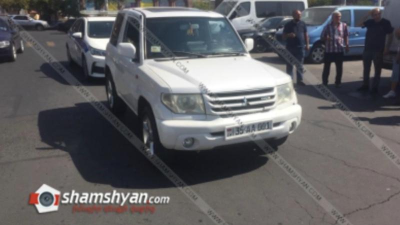 Վրաերթ Երևանում. 38-ամյա վարորդը Սասունցի Դավթի հրապարակում Mitsubishi-ով վրաերթի է ենթարկել 3 երեխայի. վերջիններս տեղափոխվել են «Սուրբ Աստվածամայր» բժշկական կենտրոն