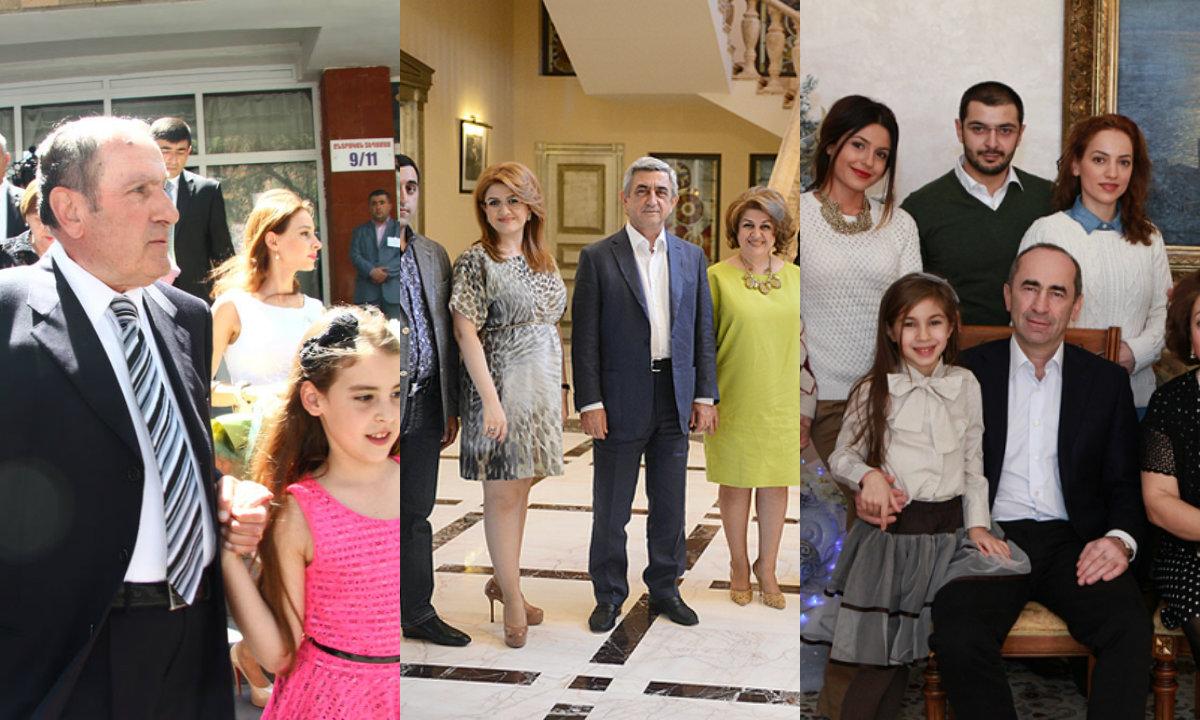 ՀՀ նախագահներն ու նրանց ընտանիքները (լուսանկարներ)