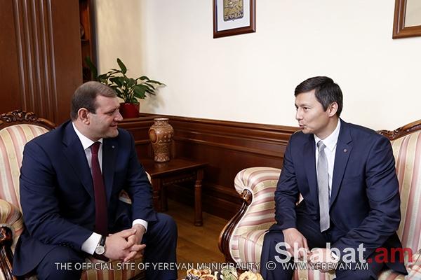 Տարոն Մարգարյանը հանդիպել է Տալլինի քաղաքապետի տեղակալի հետ (լուսանկարներ)