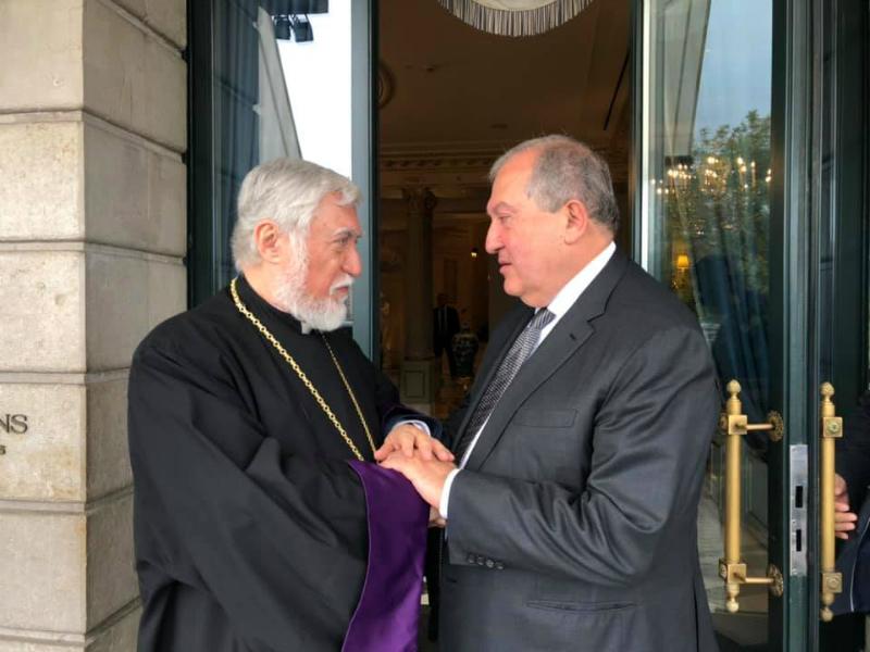 Արմեն Սարգսյանը և Արամ Ա-ն հանդիպել են