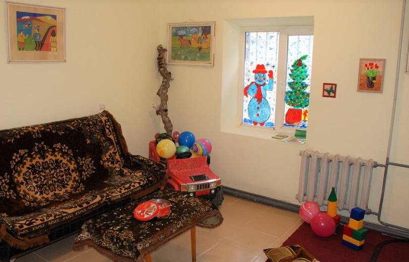 «Աբովյան» քկ հիմնարկը համալրվեց կարճատև տեսակցությունների համար նախատեսված մանկական սենյակով