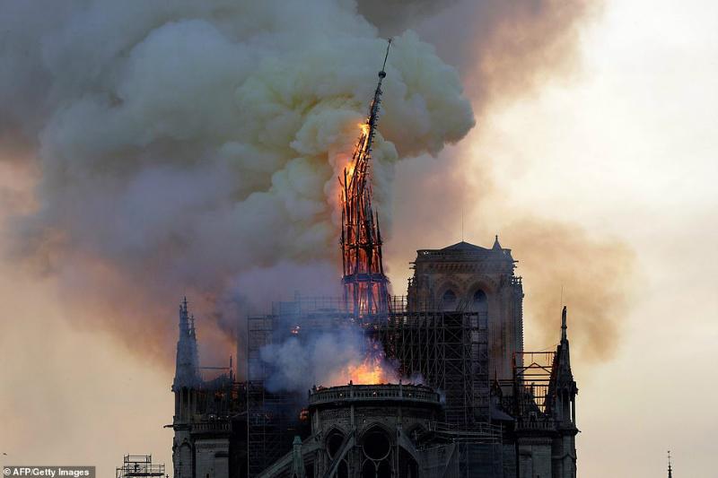 Apple-ը եւս գումարներ կհատկացնի Փարիզի Աստվածամոր տաճարի վերականգնման համար
